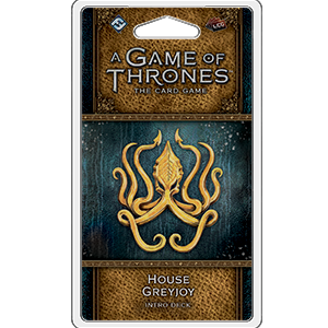 House Greyjoy Intro Deck: Game of Thrones