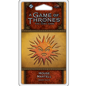 House Martell Intro Deck: Game of Thrones