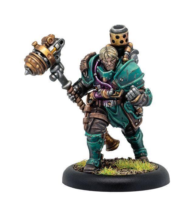 Crucible Guard Warcaster Aurum Legate Lukas Di Morray