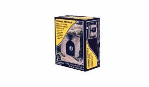 N Cut Stone Single Tunnel Portal (x2)