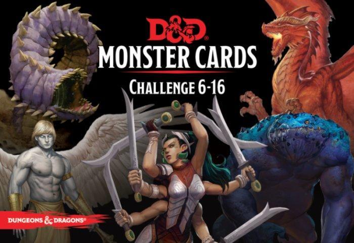 D&D: Monster Deck 6-16 (Eq 126 cards)