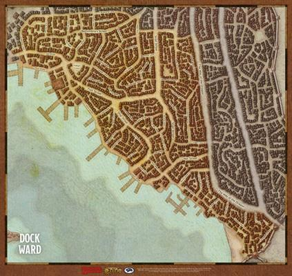 Waterdeep Dragon Heist Map Set - Dungeons And Dragons