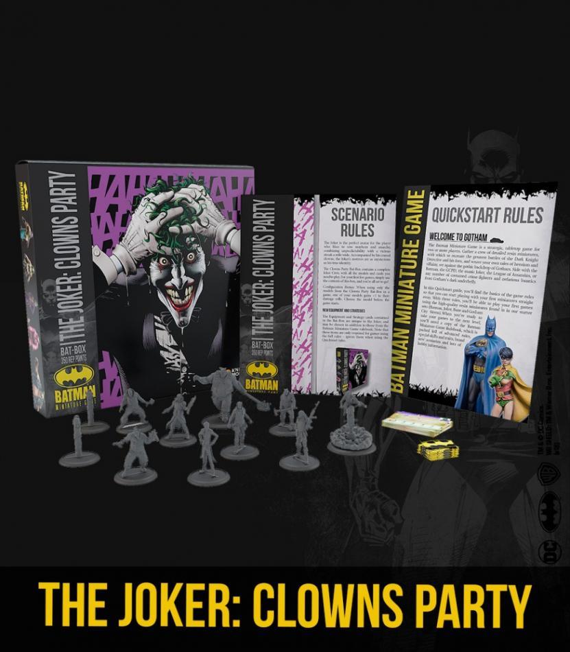 THE JOKER: CLOWNS PARTY BAT BOX (Starter Box)