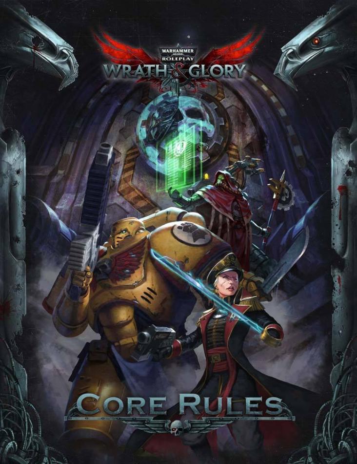 Wrath & Glory Core Rulebook Hardcover Warhammer 40000 Roleplay