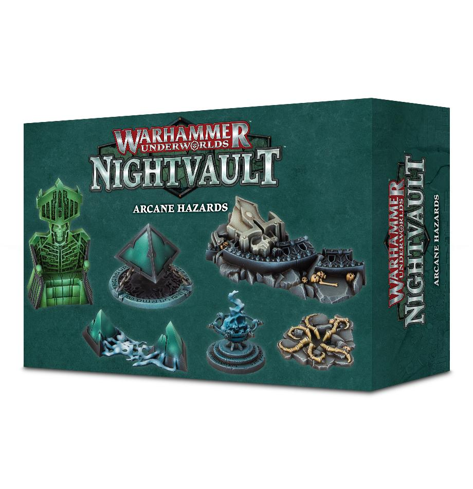 Warhammer Underworlds: Nightvault Arcane Hazards