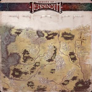 Heroes of Terrinoth: Gamemat