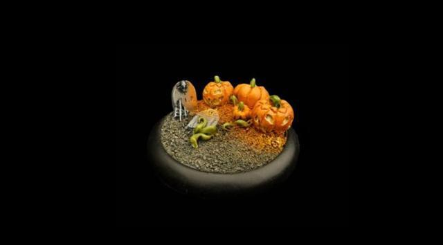 Halloweeen Round Base 50 mm (1)