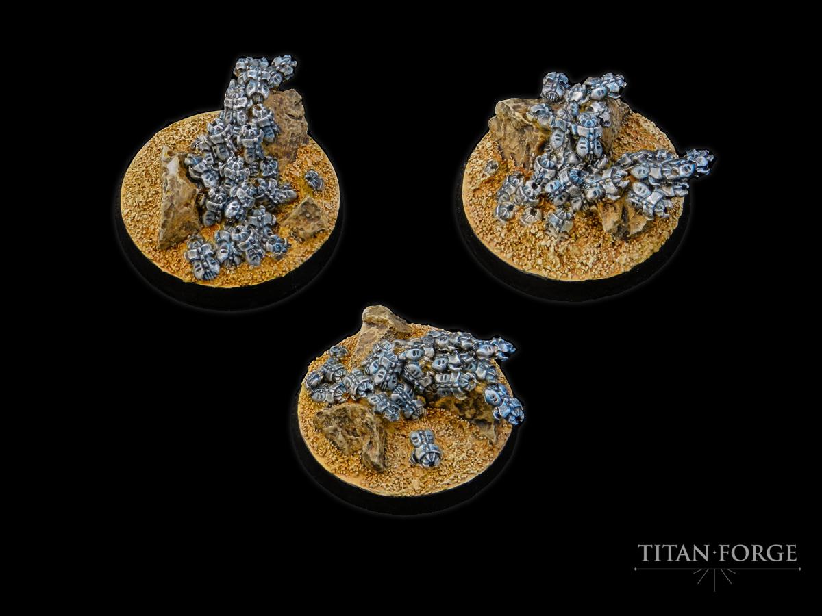 Mechanical Locust Swarms 40mm (3) - Titan Forge | Element Games