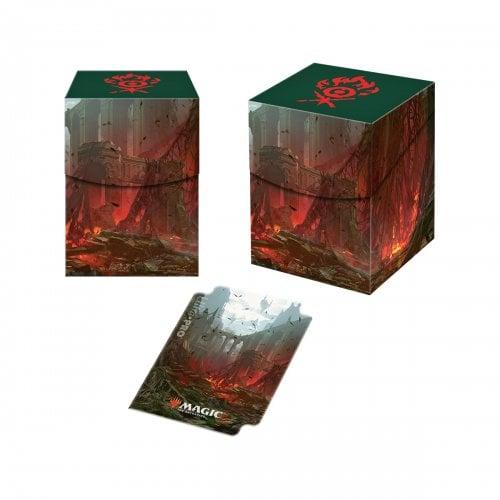 MTG: Guilds of Ravnica: Gruul Clans PRO 100+ Deck Box