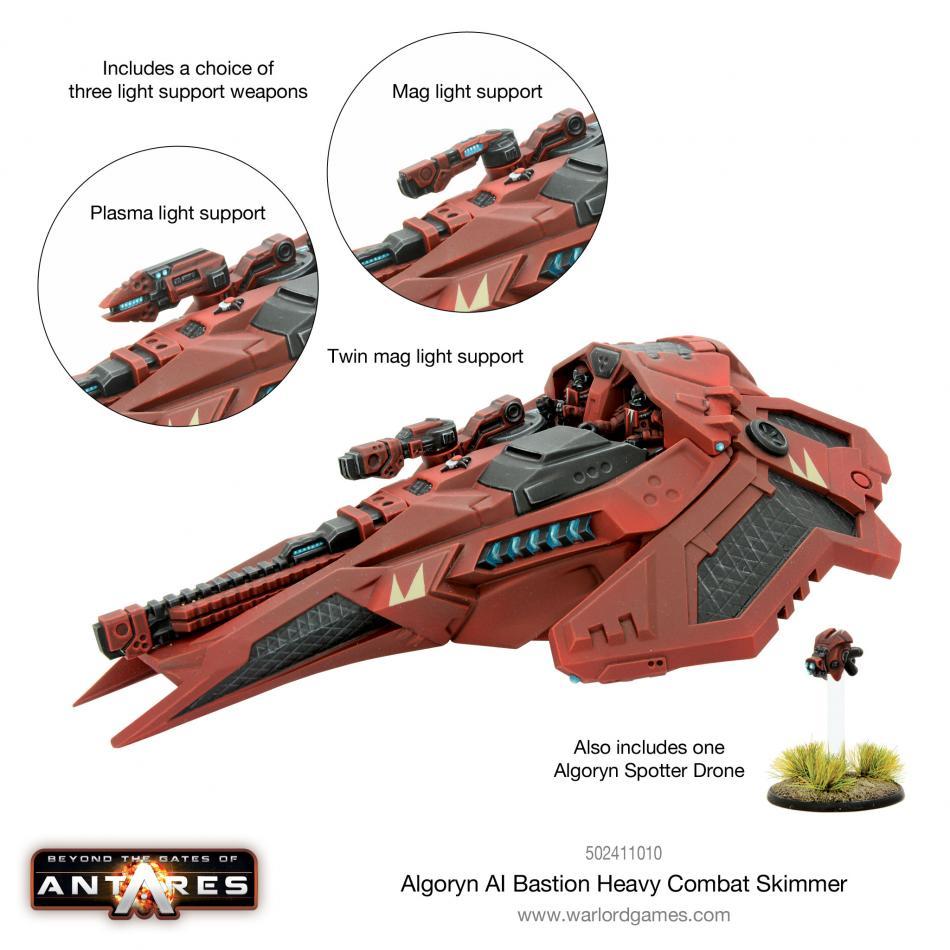 Algoryn Bastion Heavy Combat Skimmer