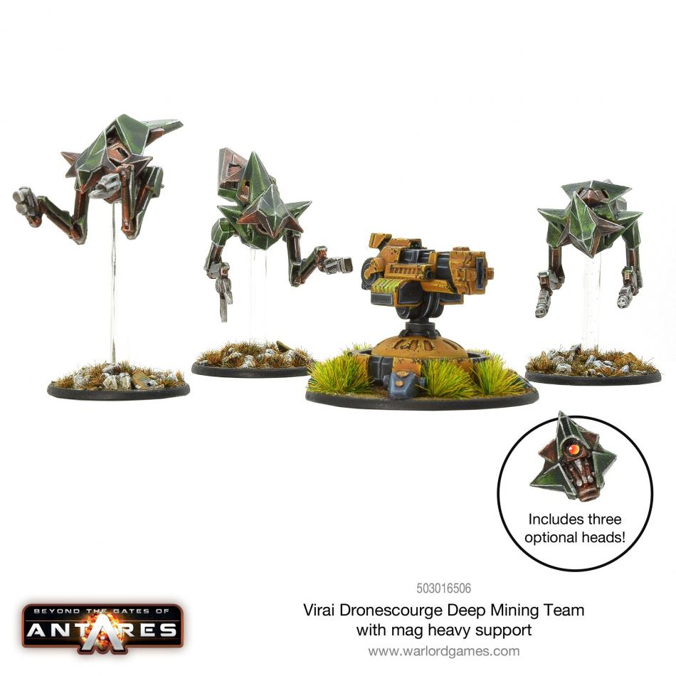 Virai Dronescourge Deep Mining Team with Mag Heavy Support