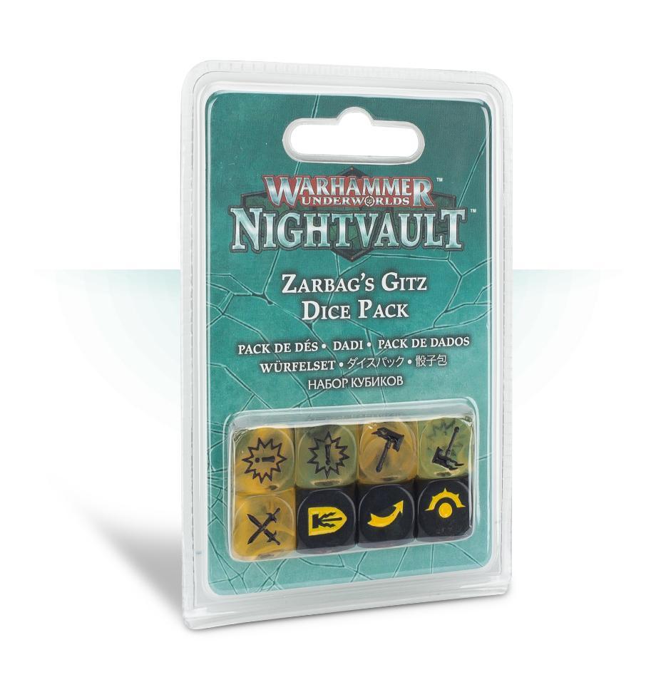 Warhammer Underworlds: Zarbags Gitz Dice Set