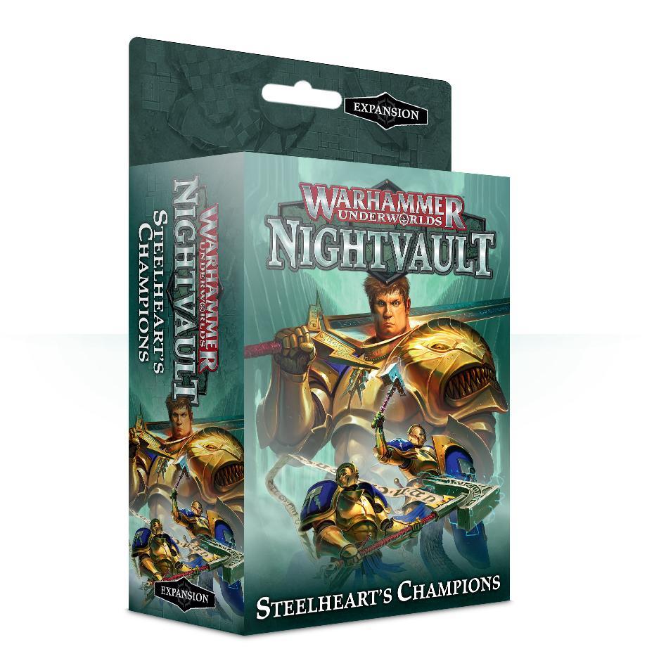Warhammer Underworlds: Steelhearts Champions (English)