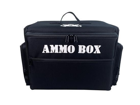 Ammo Box Bag Custom Load Out (Black)