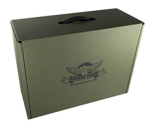 Battle Foam Eco Box Empty (Military Green)