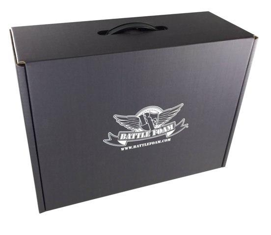 Battle Foam Eco Box Empty (Stone Black)