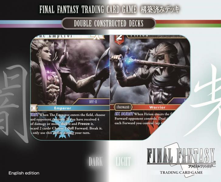 Final Fantasy TCG: Versus Deck Heroes & Villains
