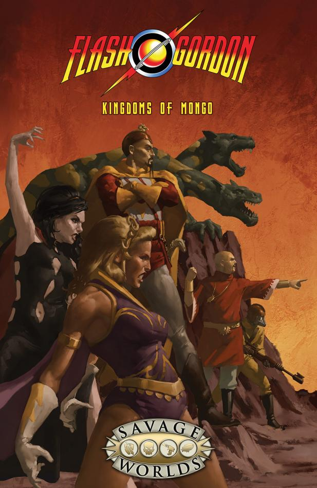 Flash Gordon Kingdoms of Mongo Softcover (Savage Worlds)