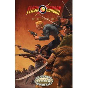 Flash Gordo Kingdoms of Mongo Limited Edition Hardcover (Savage Worlds)