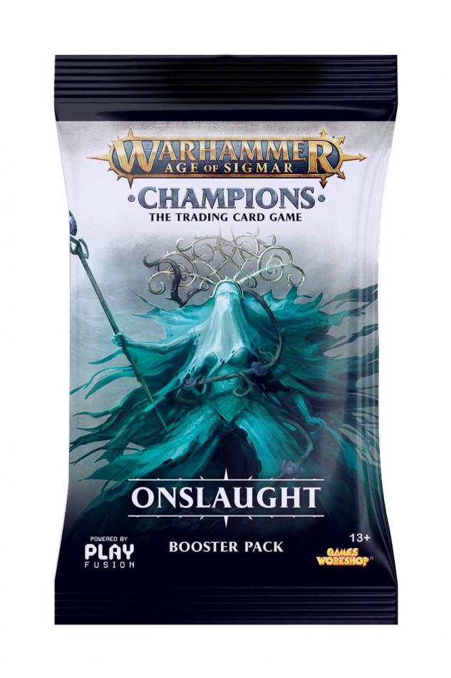Warhammer Age of Sigmar: Champions Wave 2: Onslaught Single Booster
