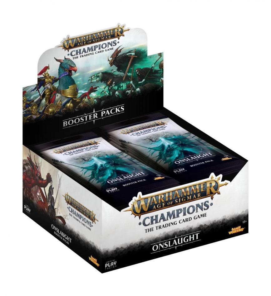 Warhammer Age of Sigmar: Champions Wave 2: Onslaught Booster Box