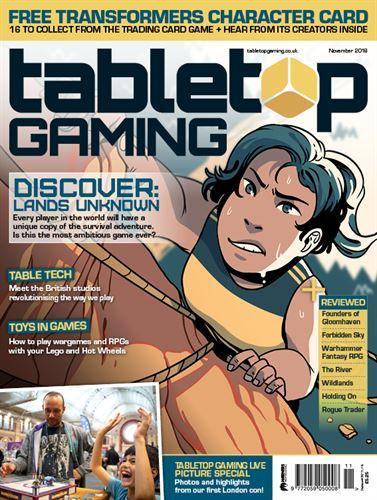 Tabletop Gaming #24 November 2018