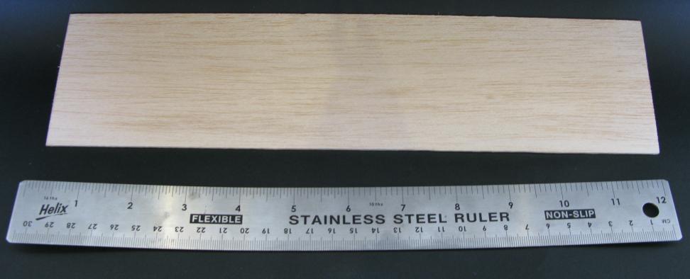 12x3 Balsa Wood Strip