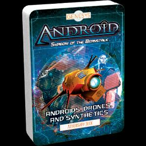 Androids, Drones, and Synthetics Adversary Deck: Genesys RPG