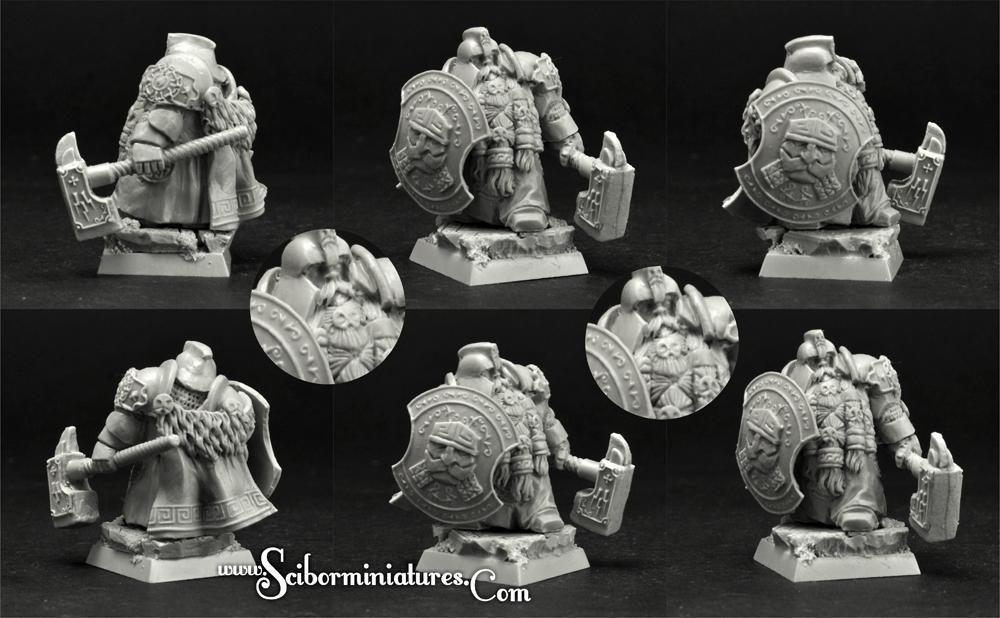 28mm/30mm Dwarf Lord Helgrind