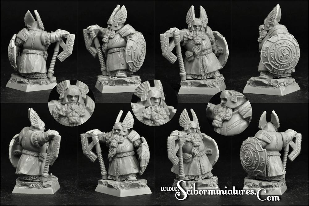 28mm/30mm Dwarf Lord Thirar