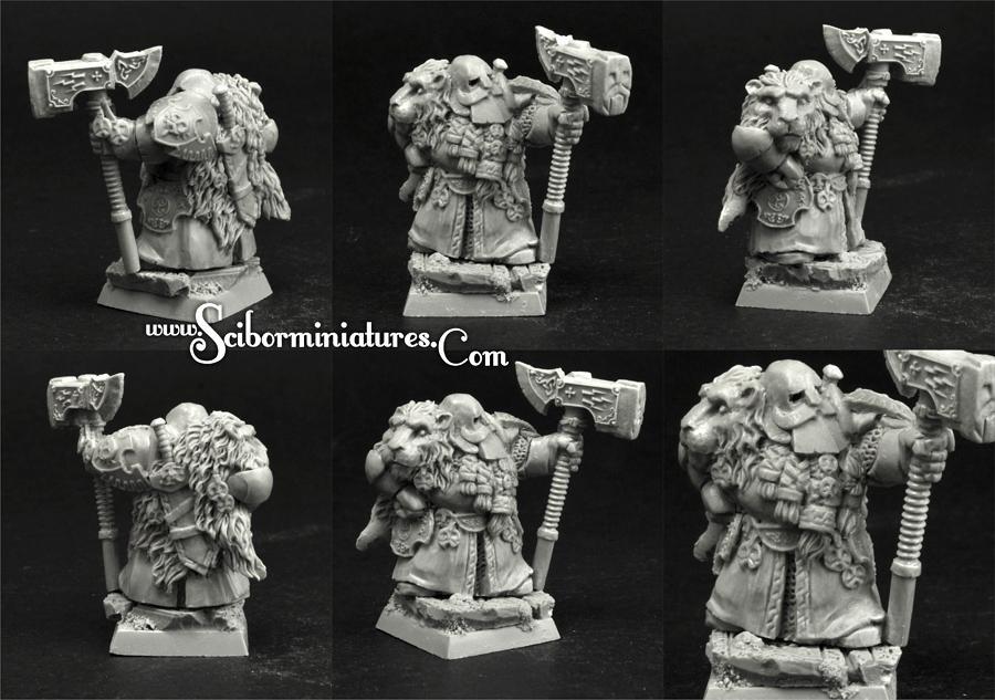28mm/30mm Dwarf Lord Therdohr