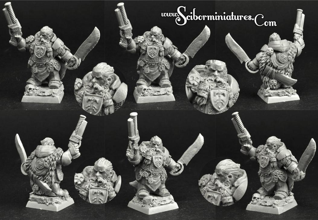 28mm/30mm Dwarf Lord Thelmor