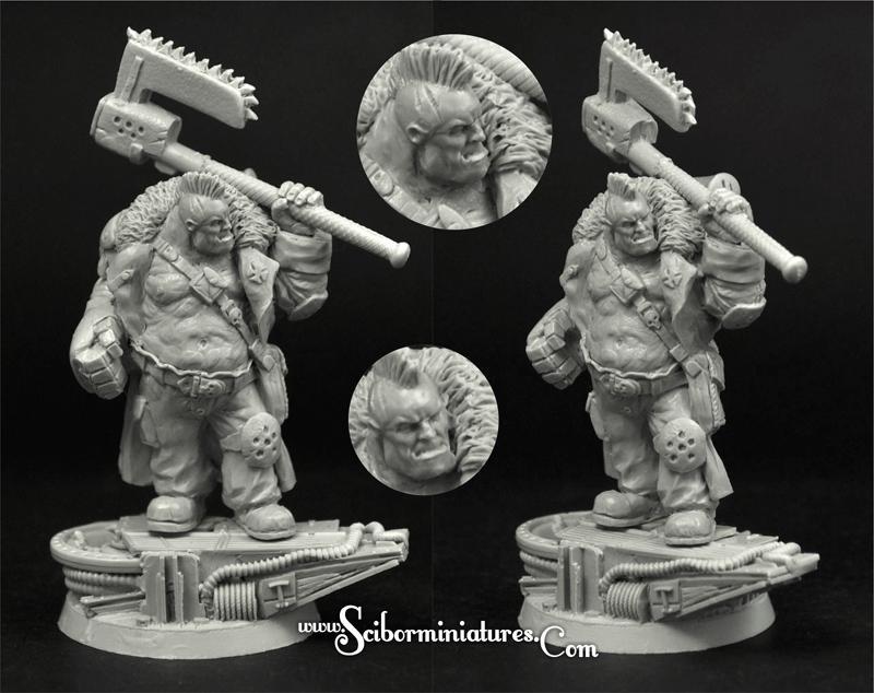 28mm SF Cossack Ogre #5