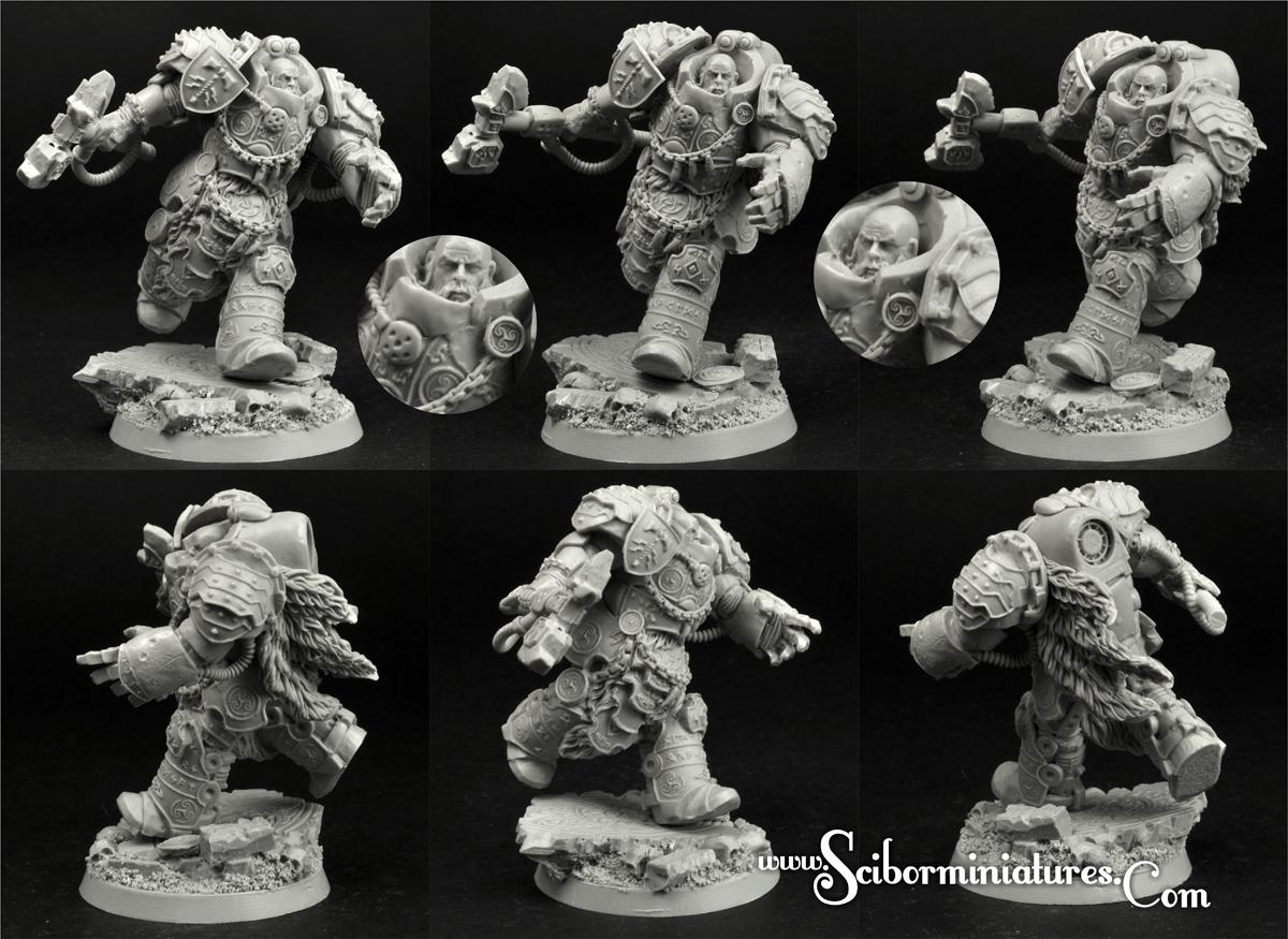 28mm/30mm Celtic SF Lord #3