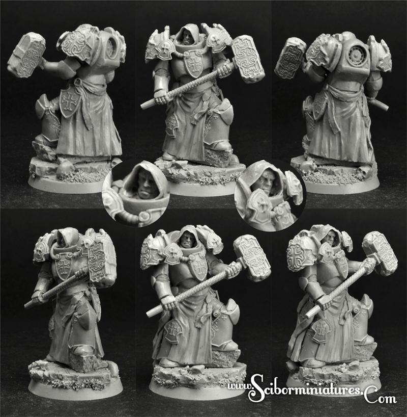 28mm Templar SF Knight #9