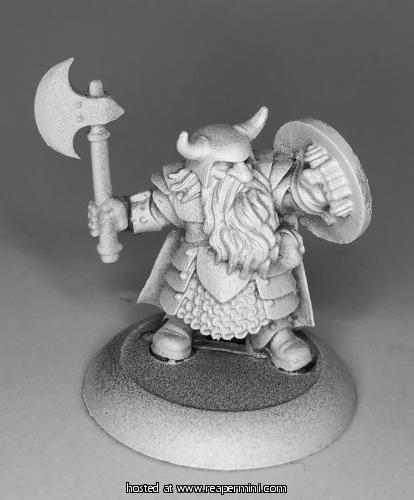 Borin Inbrow, Dwarf Fighter