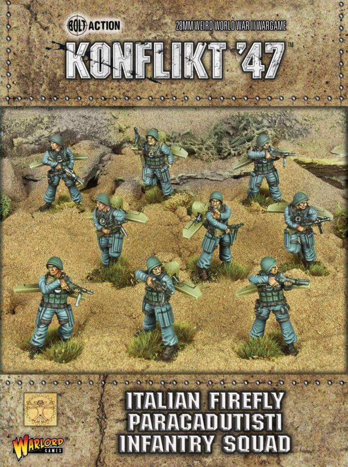 Italian Firefly Paracadutisti Infantry Squad