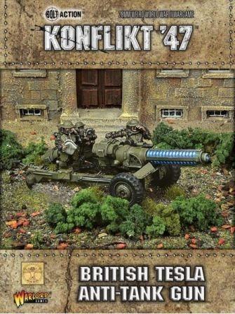 British Tesla Anti-Tank Gun