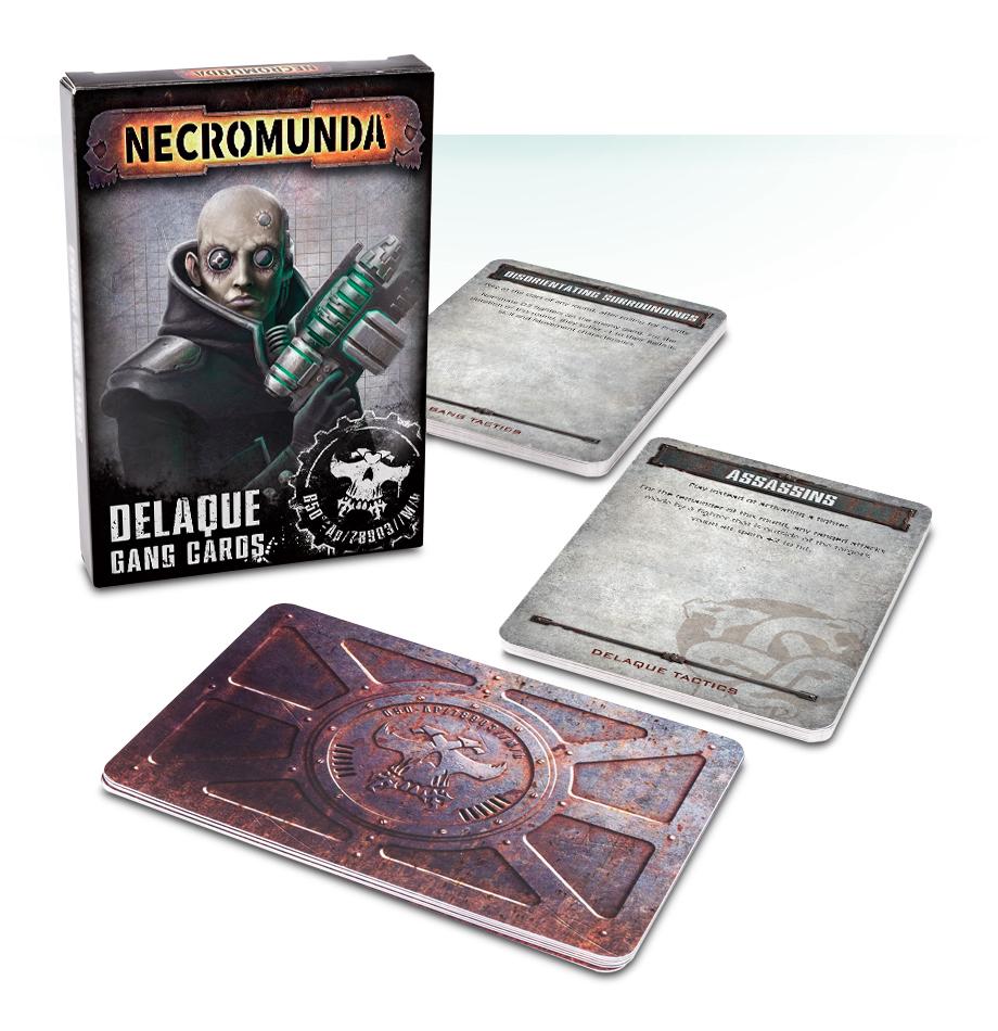 Necromunda: Delaque Gang Cards (English)