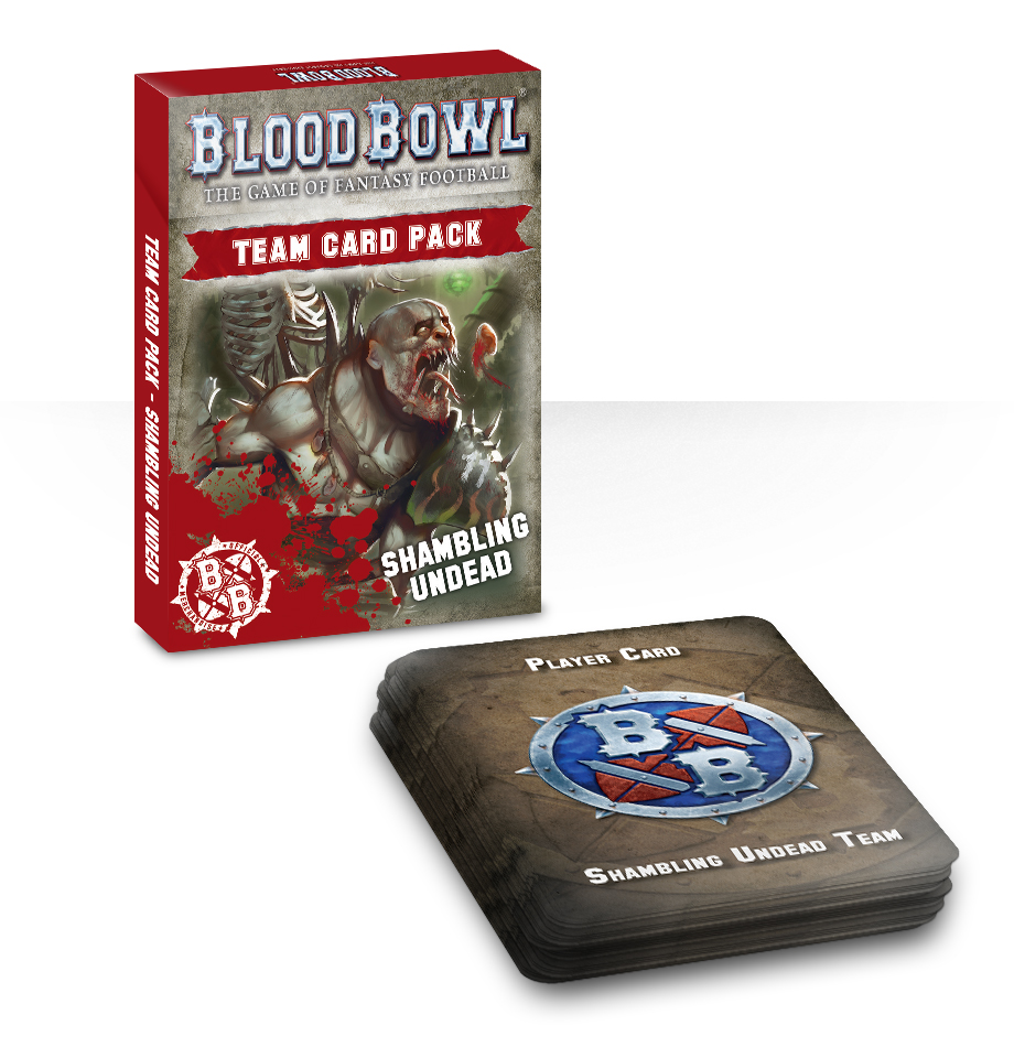 Blood Bowl: Shambling Undead Card Pack (English)