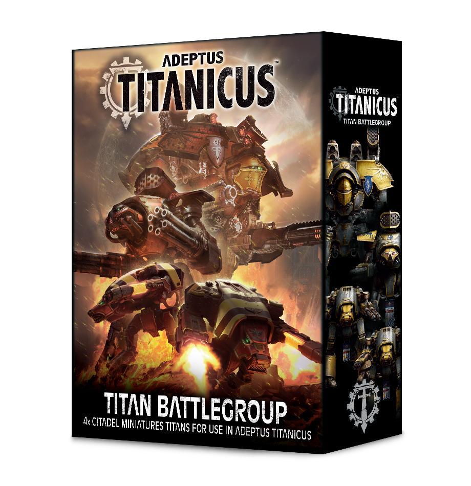 Adeptus Titanicus Titan Battlegroup