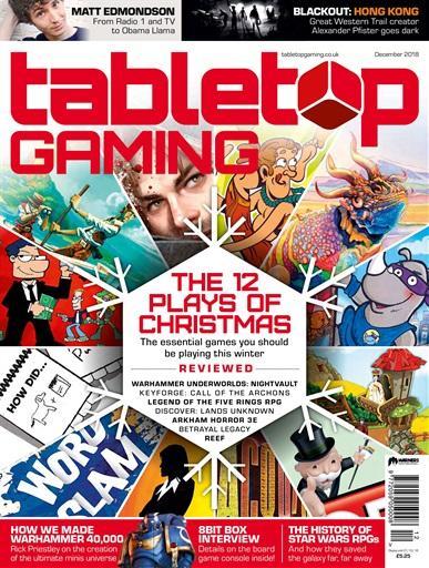 Tabletop Gaming #25 December 2018