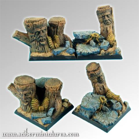 Forest 40mm Square Bases Set 1