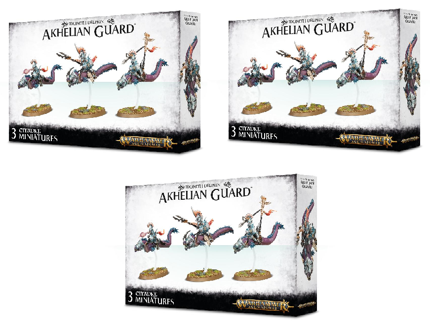 Idoneth Akhelian Guard Bundle