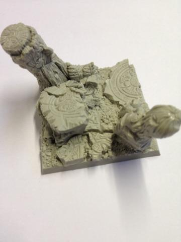 Forest 50mm Square Bases