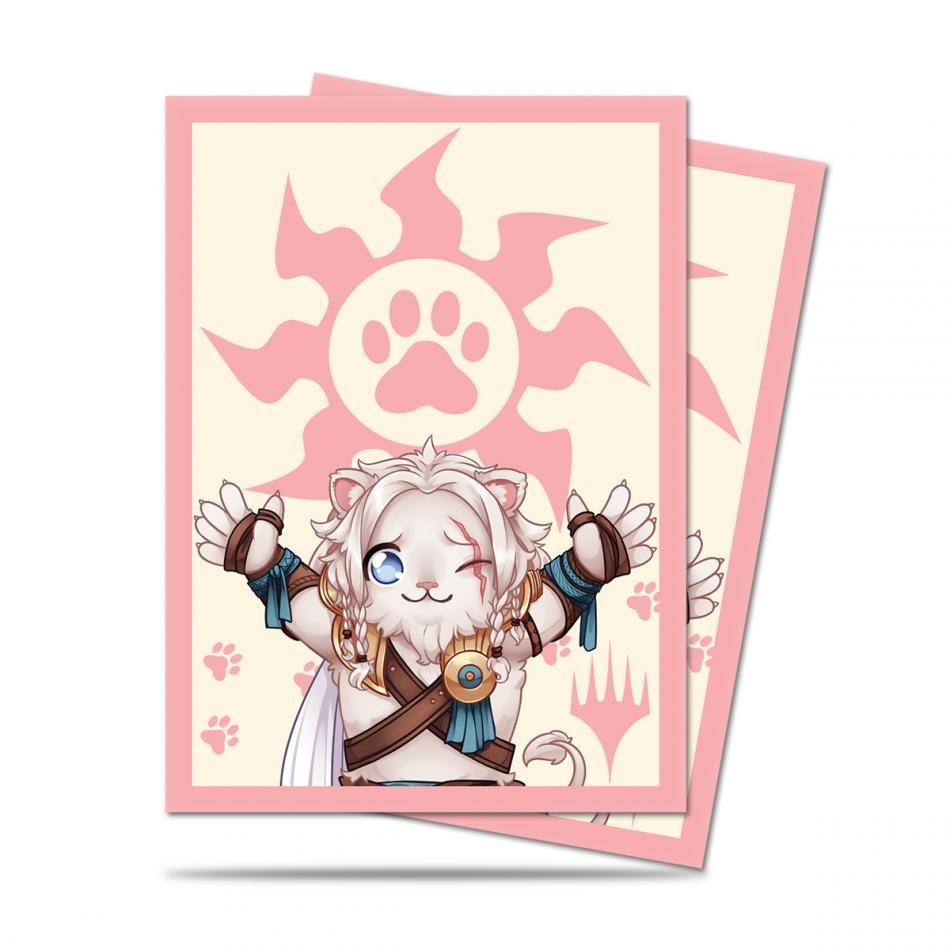 MTG: Chibi Collection Ajani Lion Hug Deck Protector Sleeves (100)