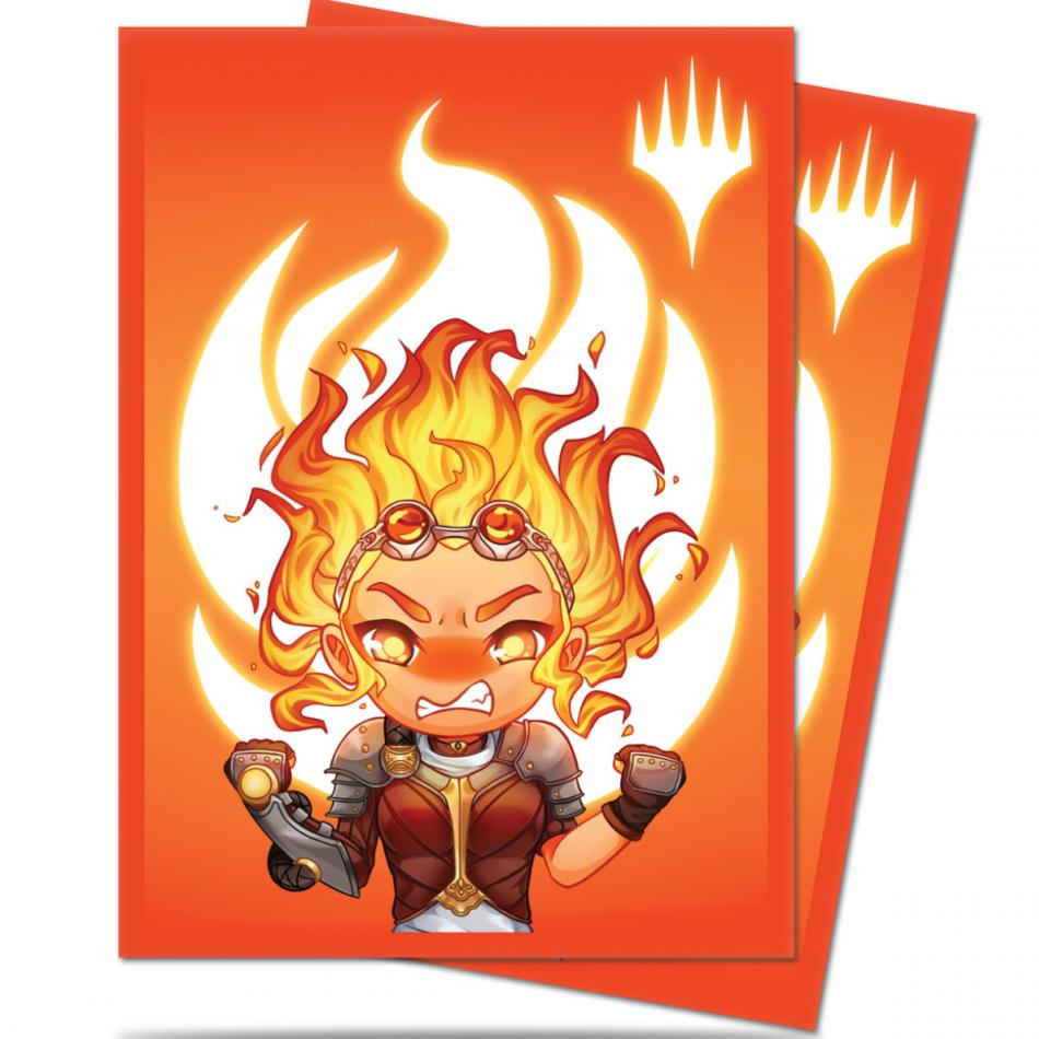 MTG: Chibi Collection Chandra Max Power Deck Protector Sleeves (100)