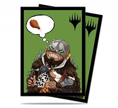 MTG: Chibi Collection Garruk I'm Starving Deck Protector Sleeves (100)