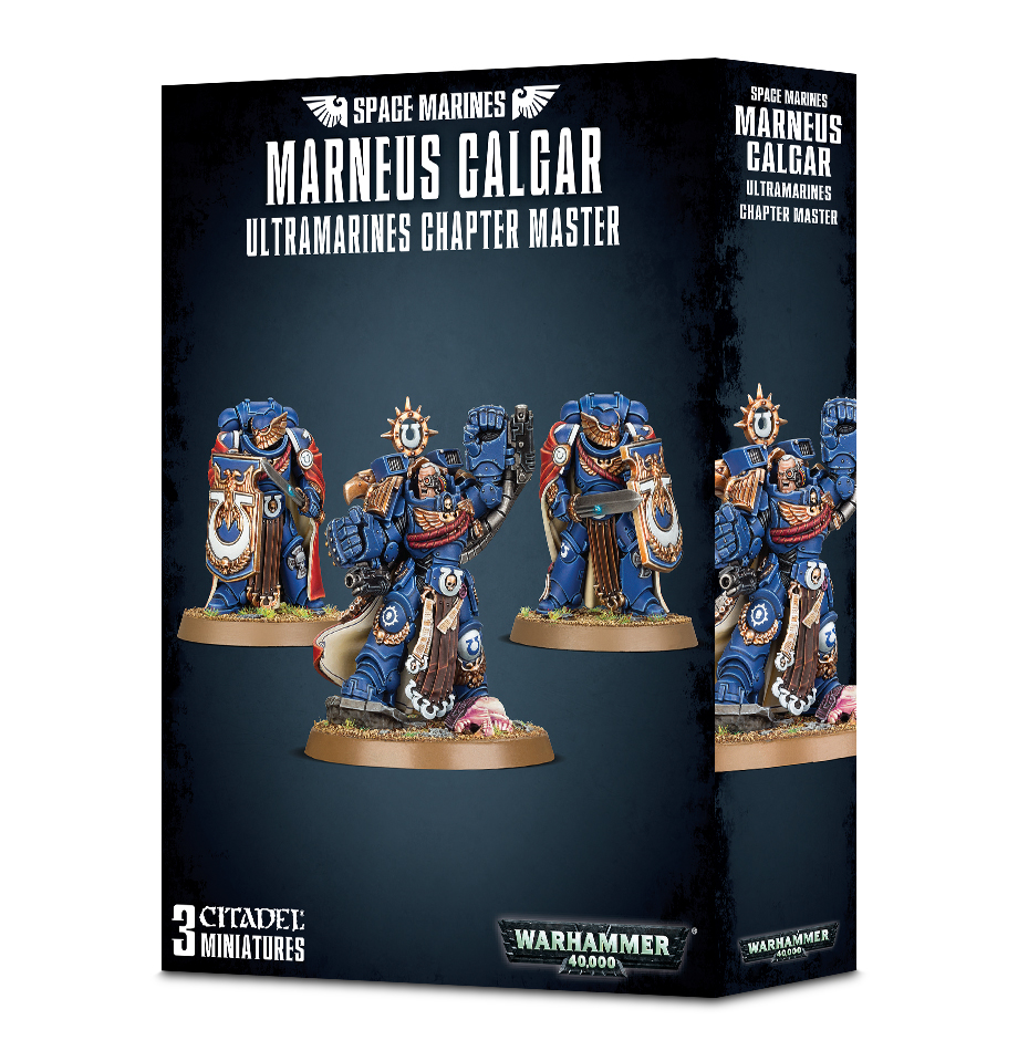 Marneus Calgar With Victrix Honour Guard