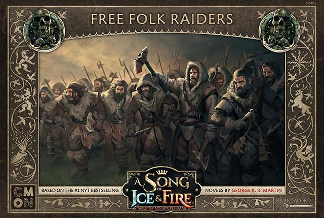 Free Folk Raiders: A Song Of Ice and Fire Exp.